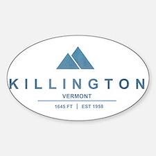 Killington Ski Resort Vermont Stickers