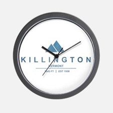 Killington Ski Resort Vermont Wall Clock