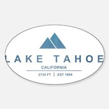 Lake Tahoe Ski Resort California Decal