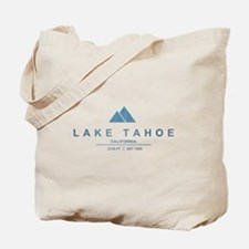 Lake Tahoe Ski Resort California Tote Bag