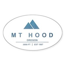 Mt Hood Ski Resort Oregon Decal