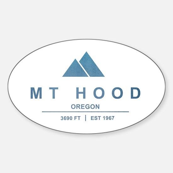 Mt Hood Ski Resort Oregon Decal