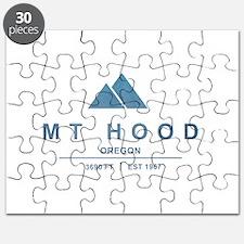 Mt Hood Ski Resort Oregon Puzzle
