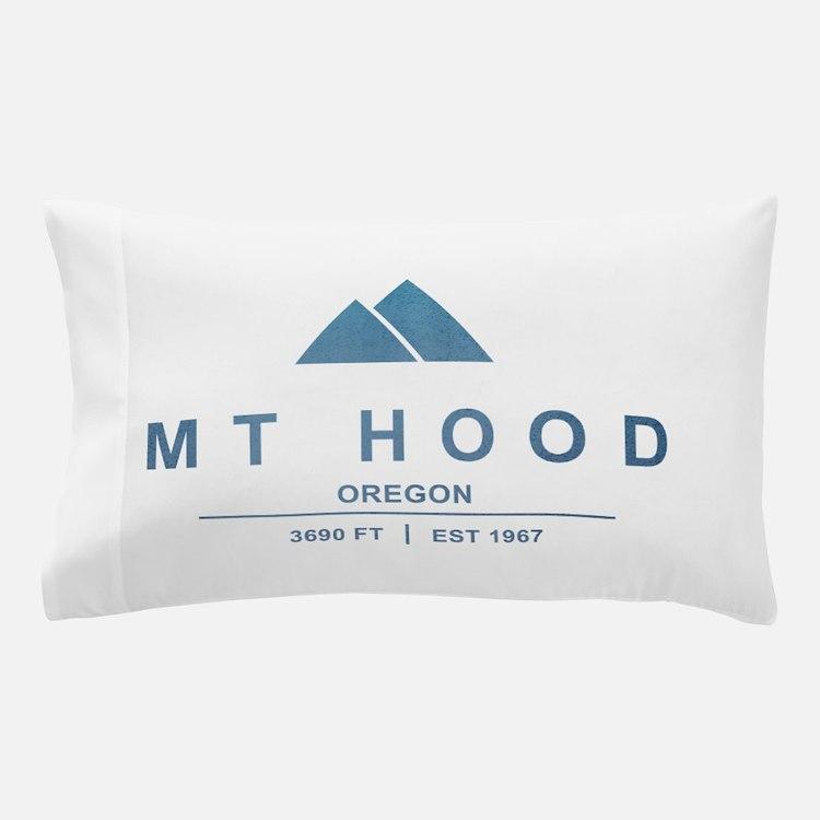Mt Hood Ski Resort Oregon Pillow Case