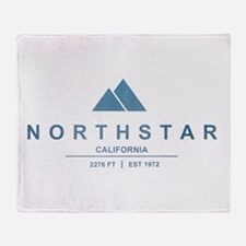 Northstar Ski Resort California Throw Blanket