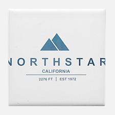 Northstar Ski Resort California Tile Coaster