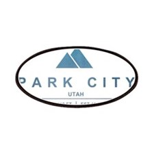Park City Ski Resort Utah Patches