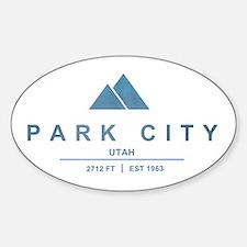 Park City Ski Resort Utah Decal