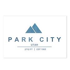 Park City Ski Resort Utah Postcards (Package of 8)