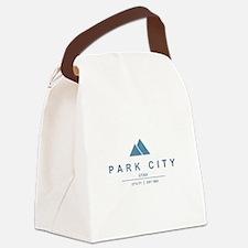 Park City Ski Resort Utah Canvas Lunch Bag