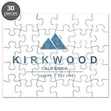 Kirkwood Ski Resort California Puzzle