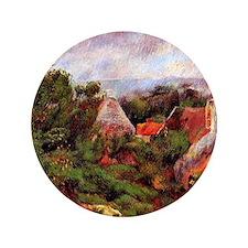 """Renoir - La Roche-Guyon 3.5"""" Button"""