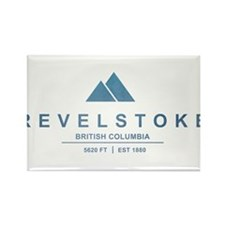 Revelstoke Ski Resort British Columbia Magnets