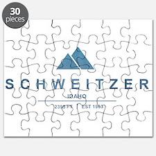 Schweitzer Ski Resort Idaho Puzzle