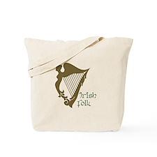 Irish Folk Tote Bag