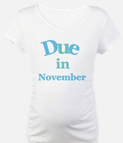 Blue Due in November Shirt