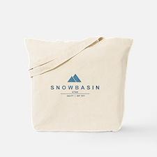 Snowbasin Ski Resort Utah Tote Bag