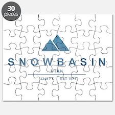 Snowbasin Ski Resort Utah Puzzle