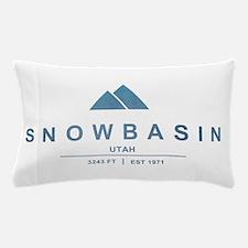 Snowbasin Ski Resort Utah Pillow Case