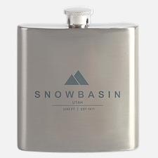 Snowbasin Ski Resort Utah Flask