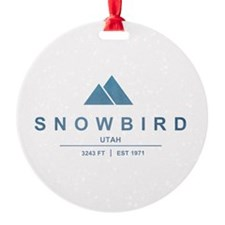 Snowbird Ski Resort Utah Ornament