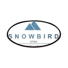Snowbird Ski Resort Utah Patches