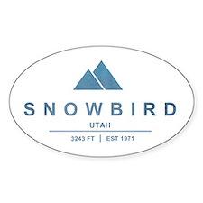Snowbird Ski Resort Utah Decal