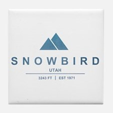 Snowbird Ski Resort Utah Tile Coaster
