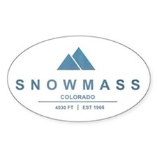 Snowmass Ski Resort Colorado Decal
