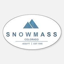 Snowmass Ski Resort Colorado Decal