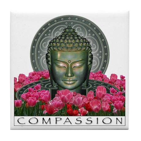 Garden Buddha Tile Coaster