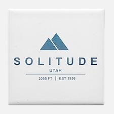 Solitude Ski Resort Utah Tile Coaster