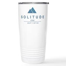 Solitude Ski Resort Utah Travel Mug
