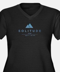 Solitude Ski Resort Utah Plus Size T-Shirt