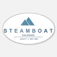 Steamboat Ski Resort Colorado Decal