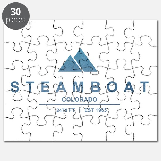 Steamboat Ski Resort Colorado Puzzle