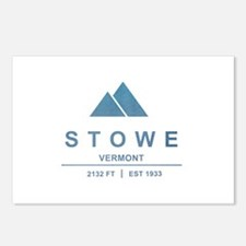 Stowe Ski Resort Vermont Postcards (Package of 8)