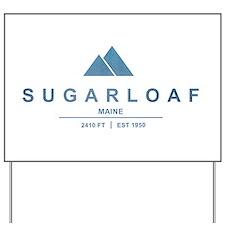 Sugarloaf Ski Resort Maine Yard Sign