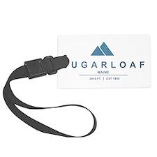 Sugarloaf Ski Resort Maine Luggage Tag