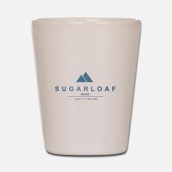 Sugarloaf Ski Resort Maine Shot Glass