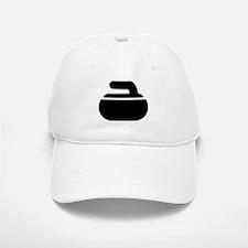 Curling stone symbol Baseball Baseball Cap