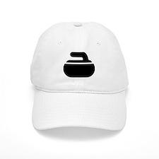 Curling stone symbol Baseball Cap