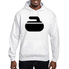 Curling stone symbol Hoodie
