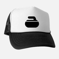 Curling stone symbol Trucker Hat