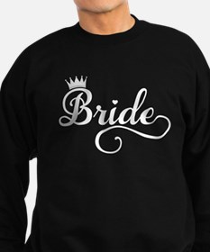 Bride white Sweatshirt