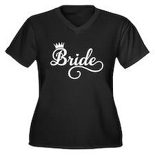 Bride white Plus Size T-Shirt