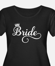 Bride white Plus Size T-Shirt