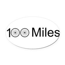 Funny Cycle Oval Car Magnet