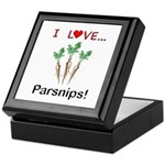 I Love Parsnips Keepsake Box
