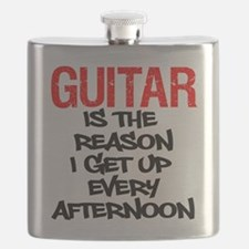 Guitar Reason I Get Up Flask
